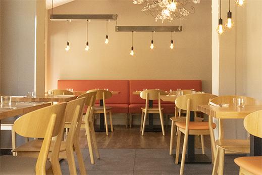Le Petit Salon du Restaurant Le Serpolet pour un repas de groupe