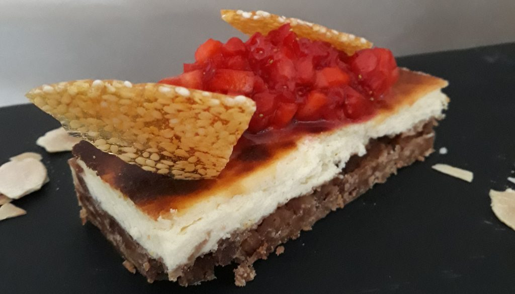 Cheese-cake aux agrumes